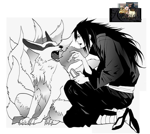 svg freeuse download Render Madara Uchiha and Kurama Nine Tails by Advaize on DeviantArt