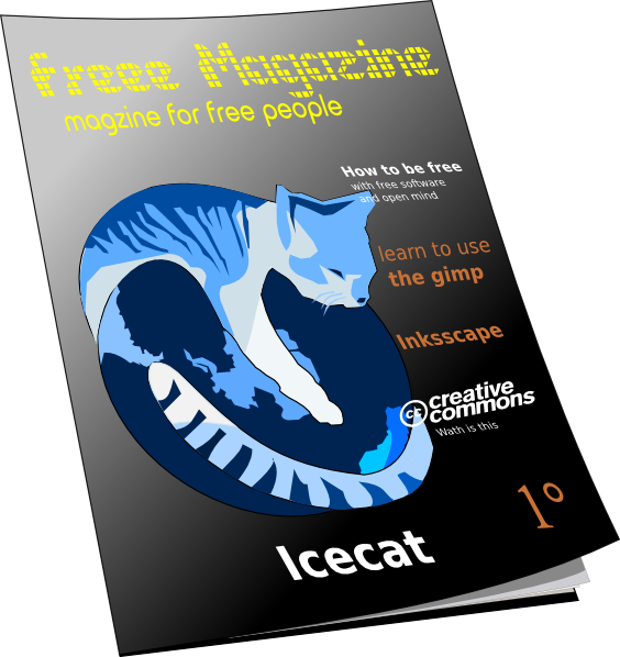 clip art free Barcode clipart magazine cover