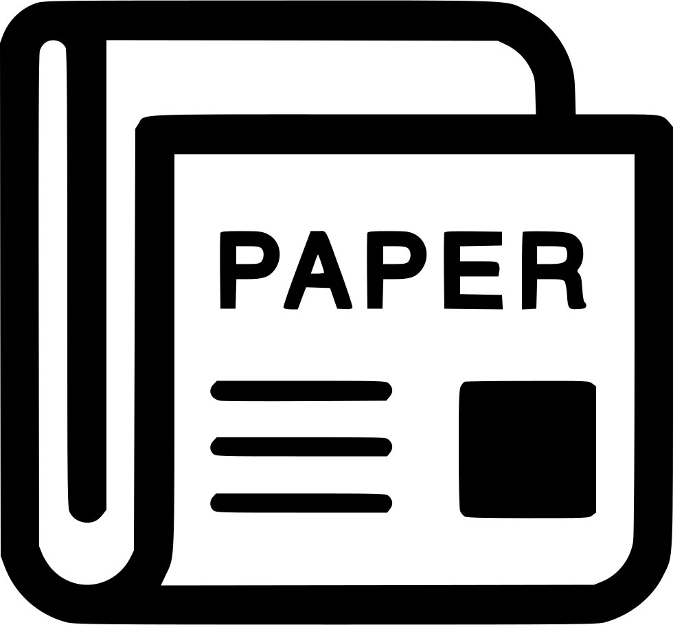 image News Paper Magazine Newspaper Journal Svg Png Icon Free Download