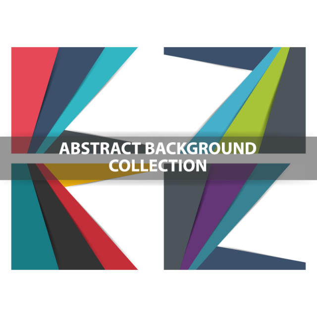 image transparent Colorful abstract triangle polygon background Template for Free