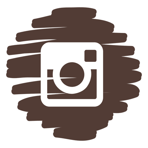 transparent stock Instagram distorted round icon