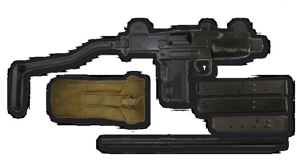 vector transparent download Vector Arms Mini Uzi Side Folder
