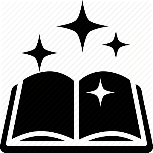 clip black and white stock Magic clipart magic book. Opened free on dumielauxepices.