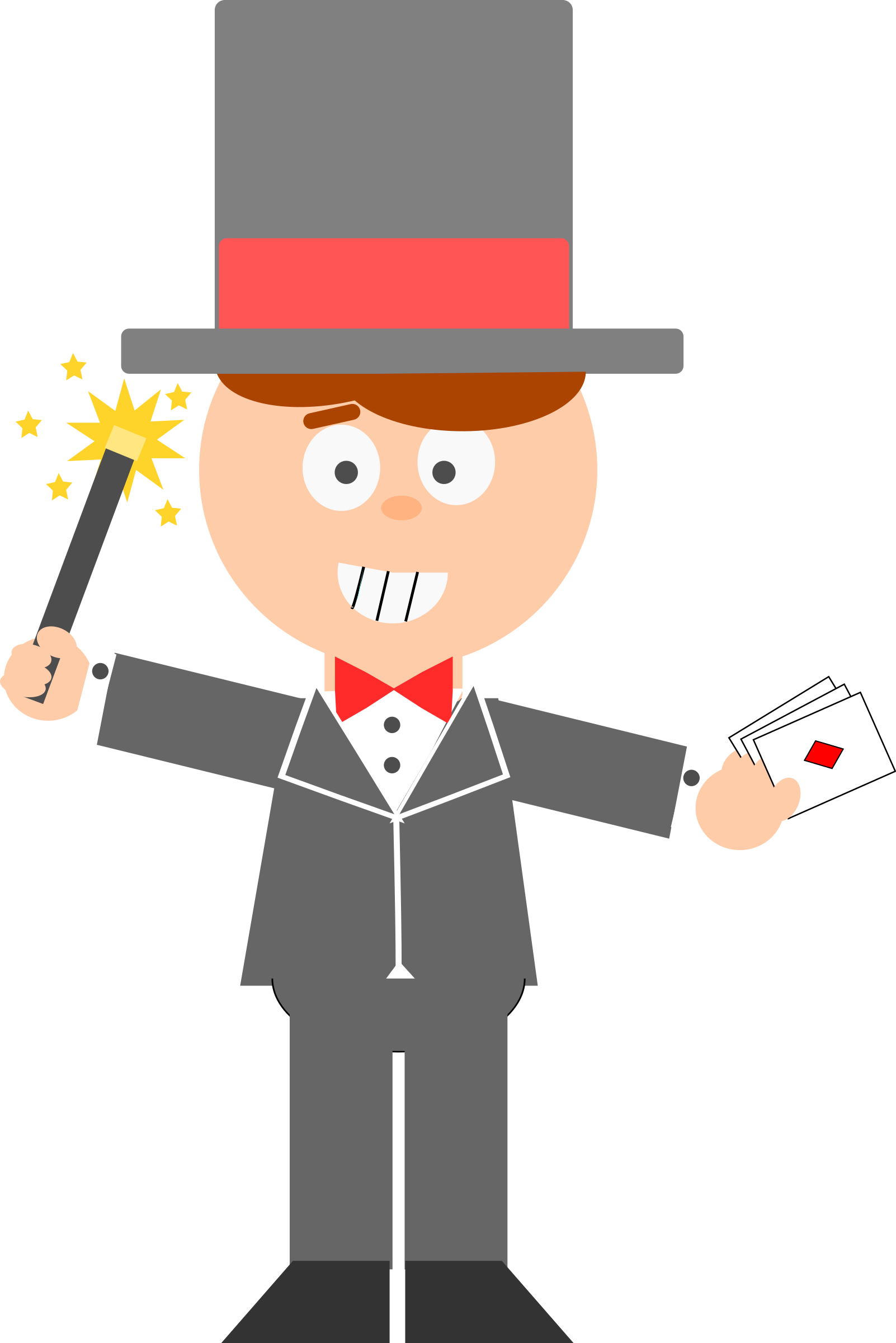 graphic free Magician clipart. Cartoon