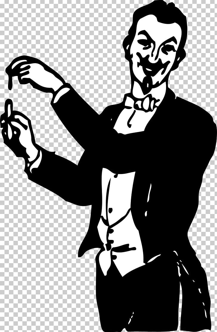 svg free stock Magician clipart illusionist. Png art black and.