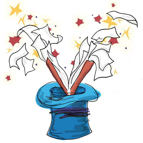 svg library . Magician clipart magic power.