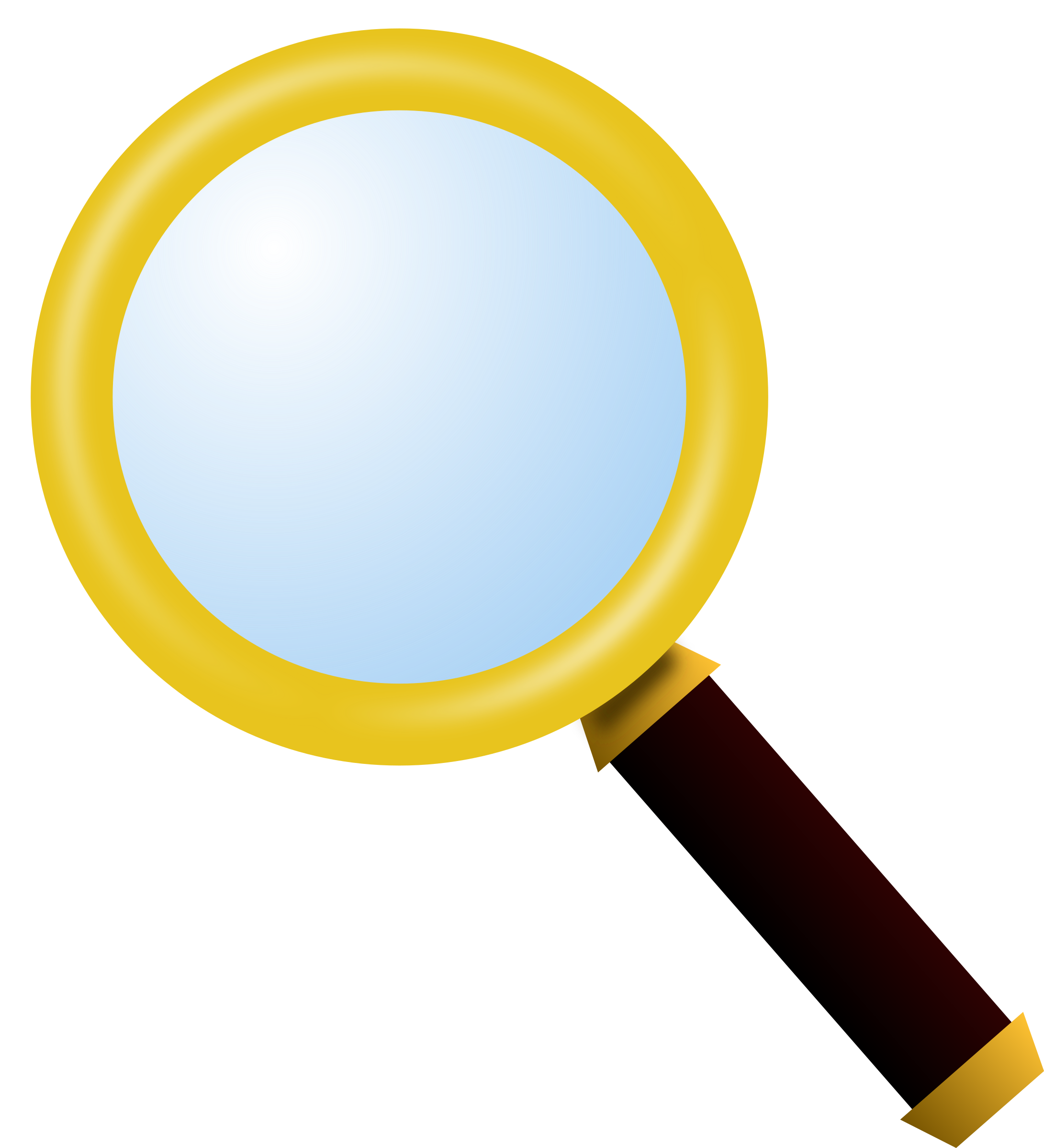 picture royalty free download Glass. Magnifying clipart