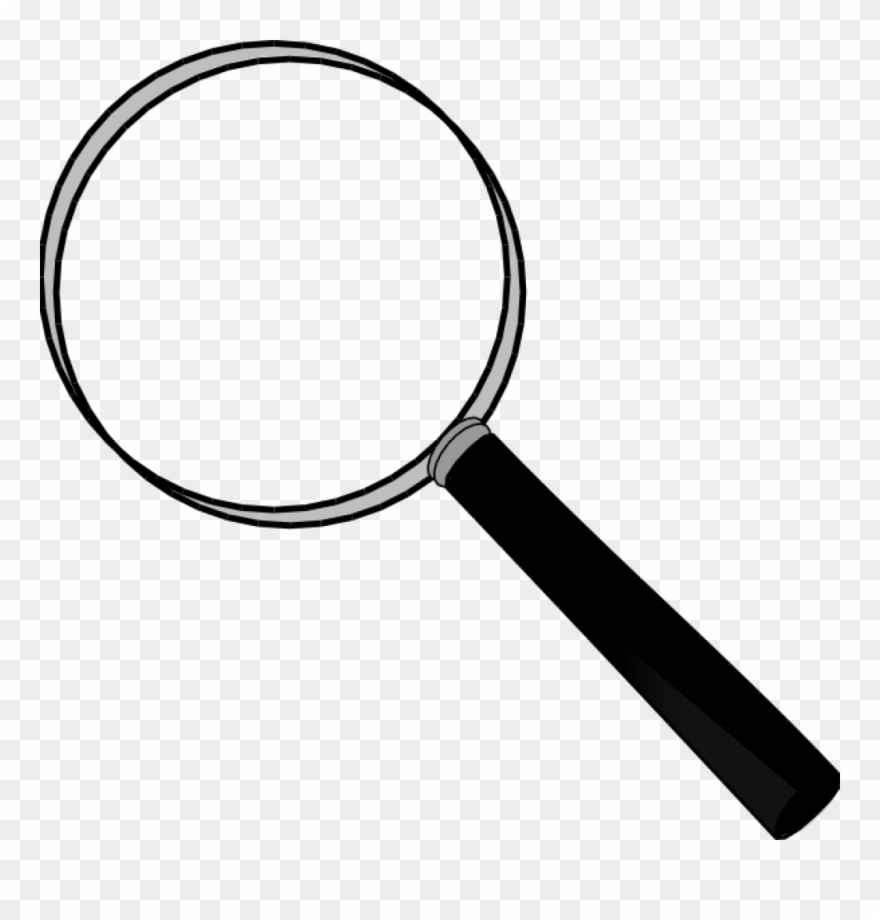 image free Glass magnification clip art. Magnifying clipart