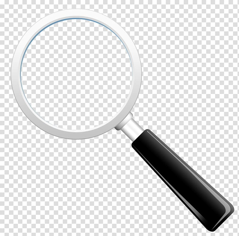 clip art library Magnifying clipart box. Black and gray glass.