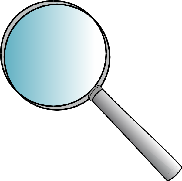 jpg black and white Magnifying clipart box. Glass icon android the.