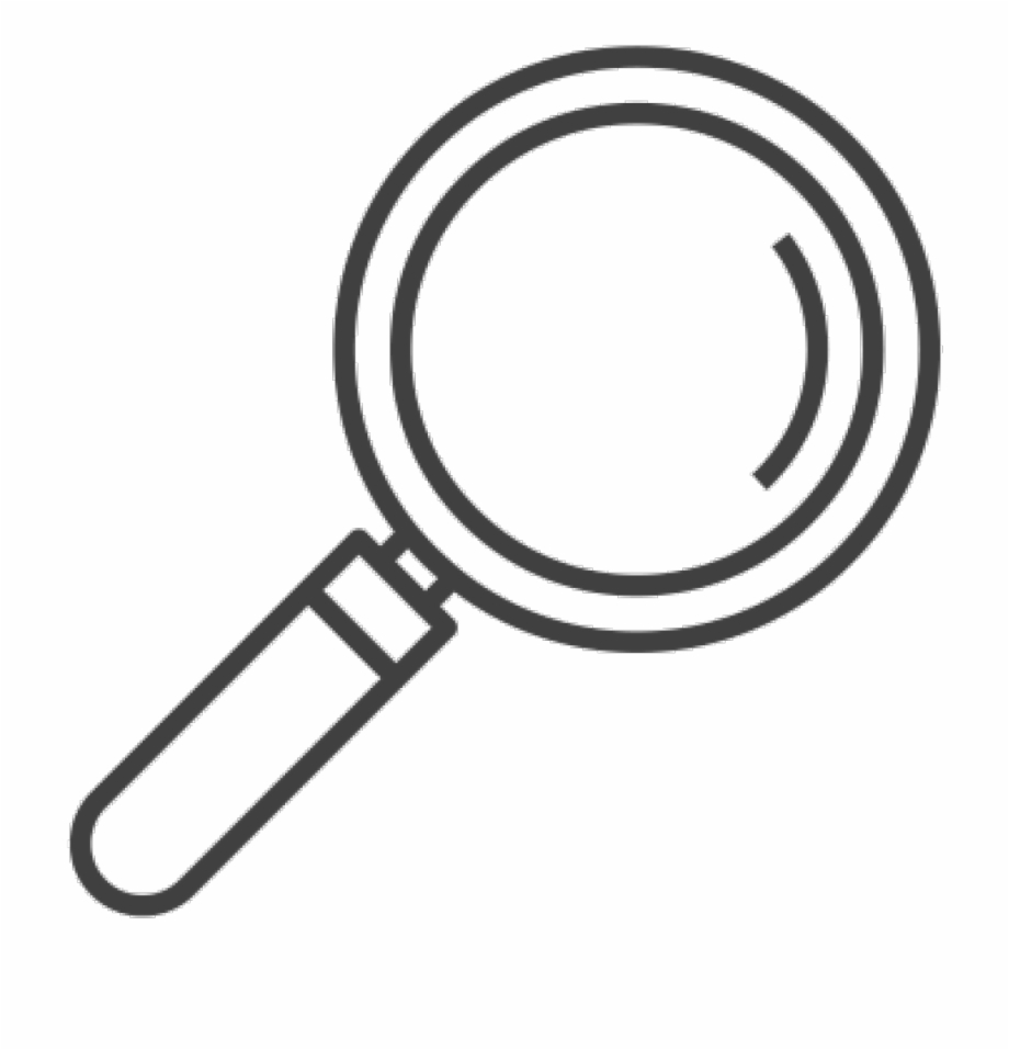 image free Glass png . Magnifying clipart number.