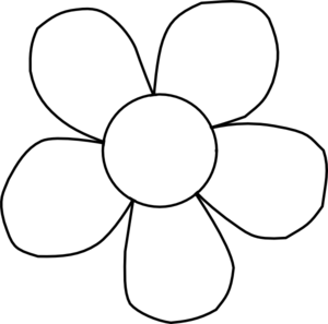 banner library Flower panda free images. Magnolia clipart outline.