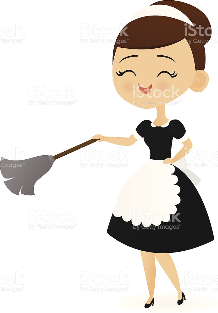 transparent Station . Maid clipart.