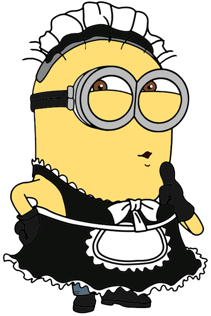 banner royalty free library Despicable me clip art. Maid clipart.