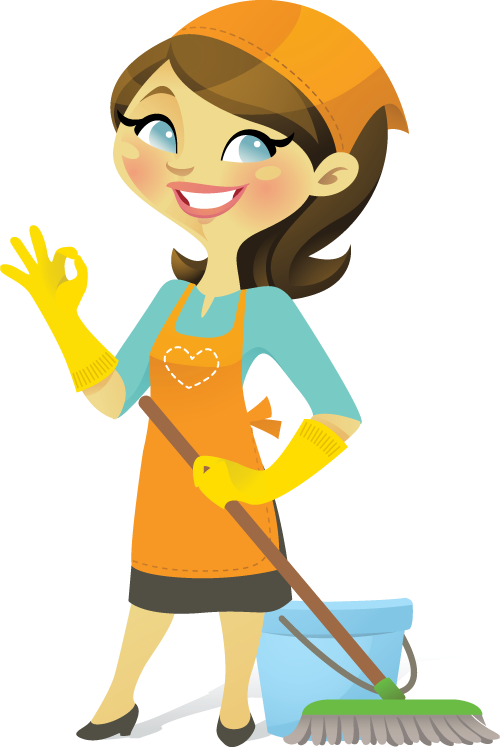 royalty free download Need to get find. Maid clipart.