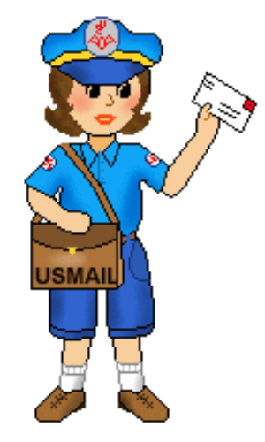 clipart download Mail carrier clipart