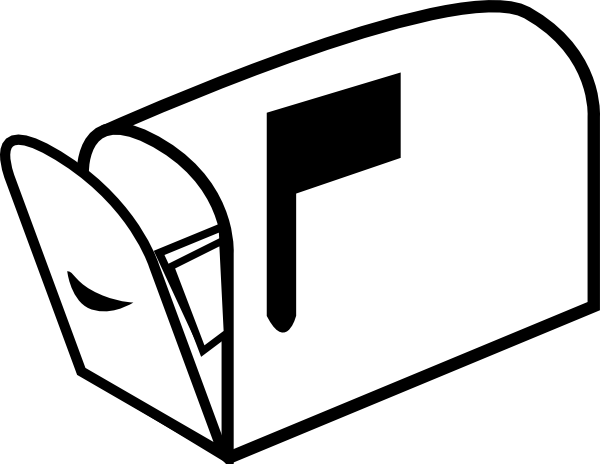 svg freeuse stock Mailbox kid clipartix free. Mail clipart.
