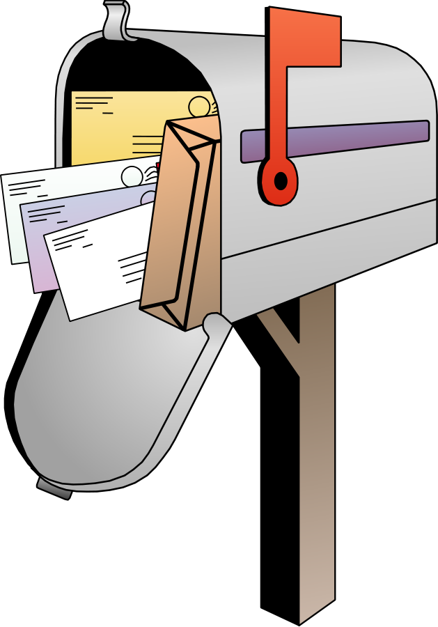 clip art Mail clipart house mailbox. Address free on dumielauxepices.