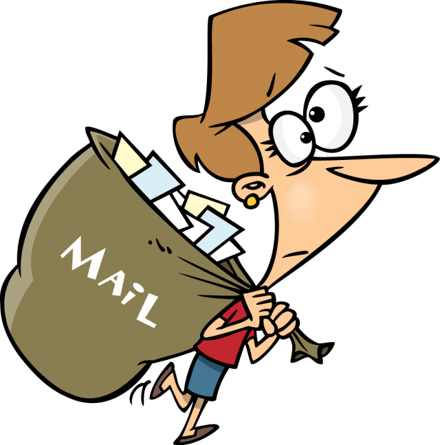 image transparent download Mail Boy Mascot