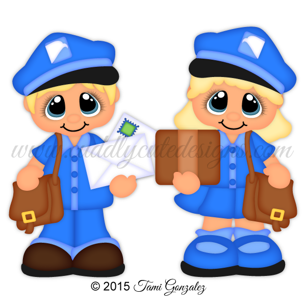 jpg royalty free stock Career cuties carrier . Mail clipart mail lady.