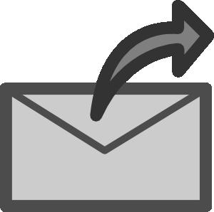 svg transparent Send clip art at. Mail clipart sent mail.