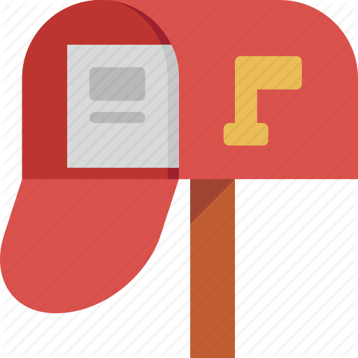 clip library download Iconsimple communication by pixan. Mailbox clipart flat.