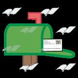 svg transparent Abeka clip art with. Mailbox clipart green.