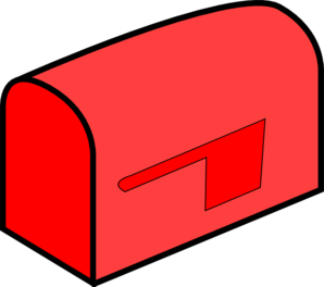 vector library stock Red . Mailbox clipart green.