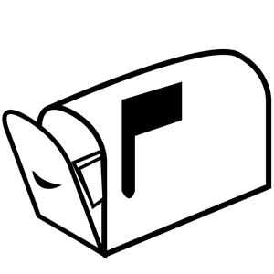 png freeuse download Mailbox clipart postal service. Free on dumielauxepices net.