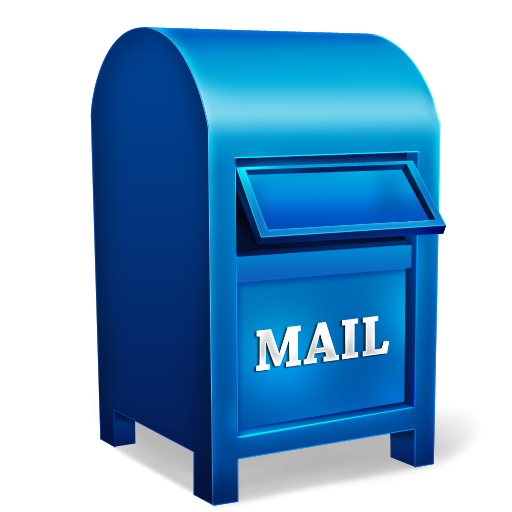 transparent library Mail box icon png. Mailbox clipart postal service.
