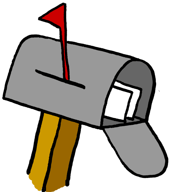 clip library download Google image result for. Mailman clipart full mailbox.