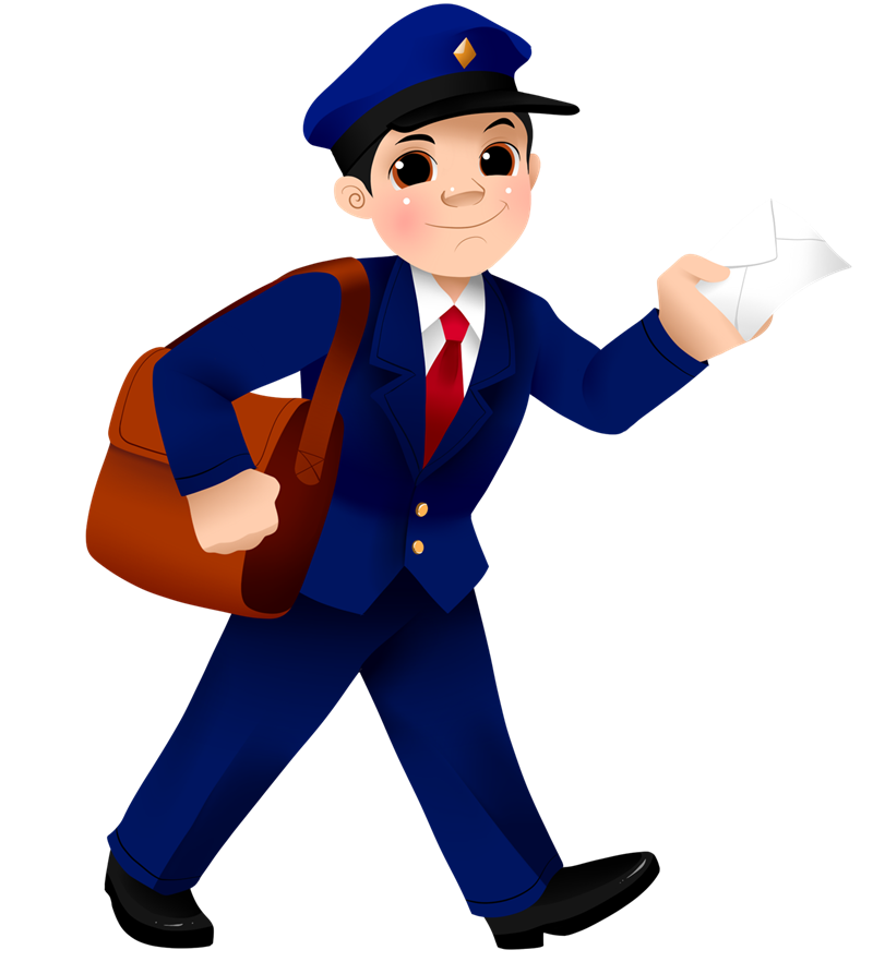 image free library Free cliparts download clip. Mailman clipart.
