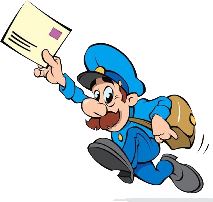 jpg free library Postman png image purepng. Mailman clipart