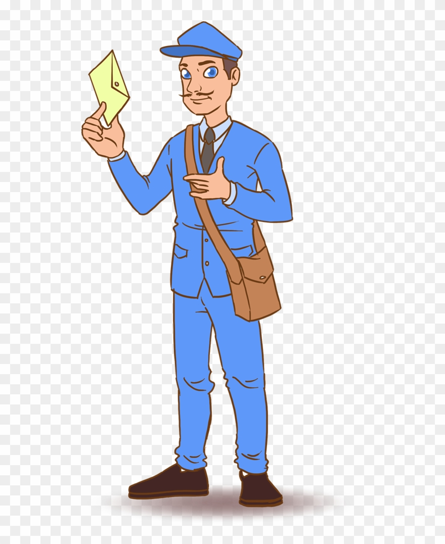 png royalty free stock Free to use public. Mailman clipart