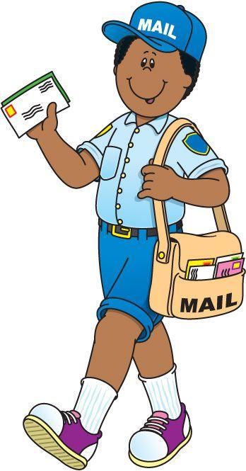 clipart transparent download  clipartlook. Mailman clipart