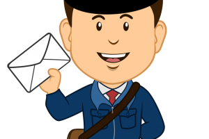 banner library download Mailman clipart. Cilpart cozy design mee