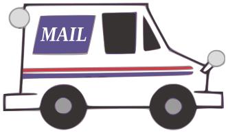 picture transparent Mailman clipart car. Picture .
