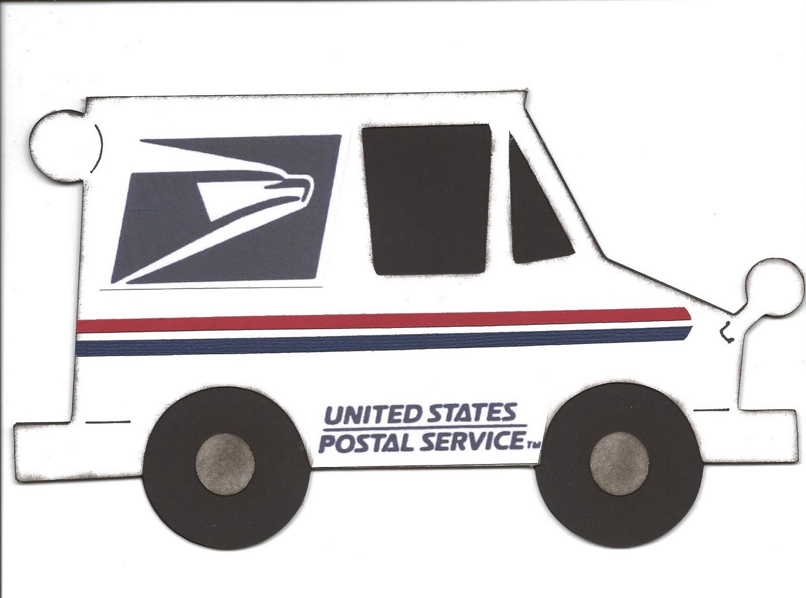 clip library Transparent png free download. Mailman clipart car.