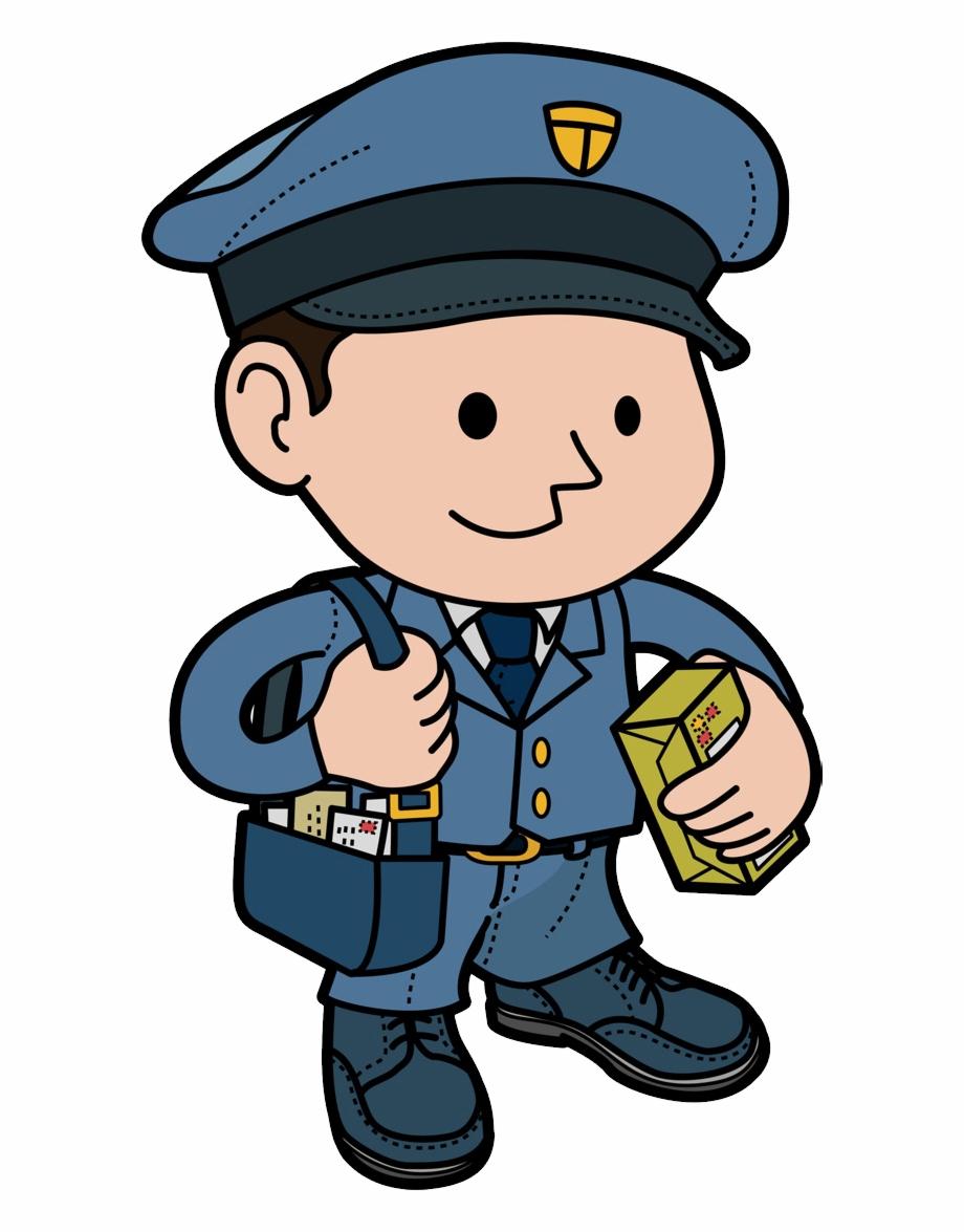 banner royalty free Png pngtube . Mailman clipart postman uniform