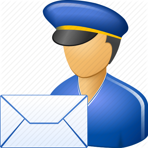 banner freeuse Mailman clipart postmaster