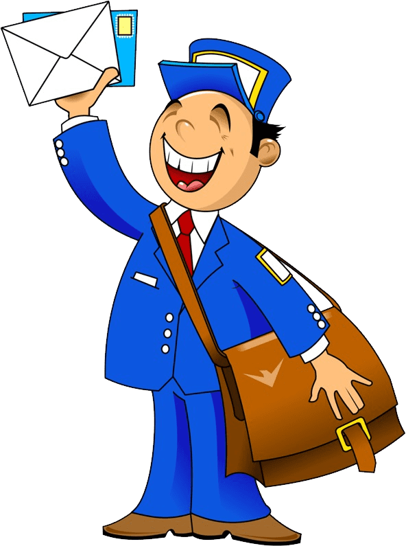 clipart royalty free postman png