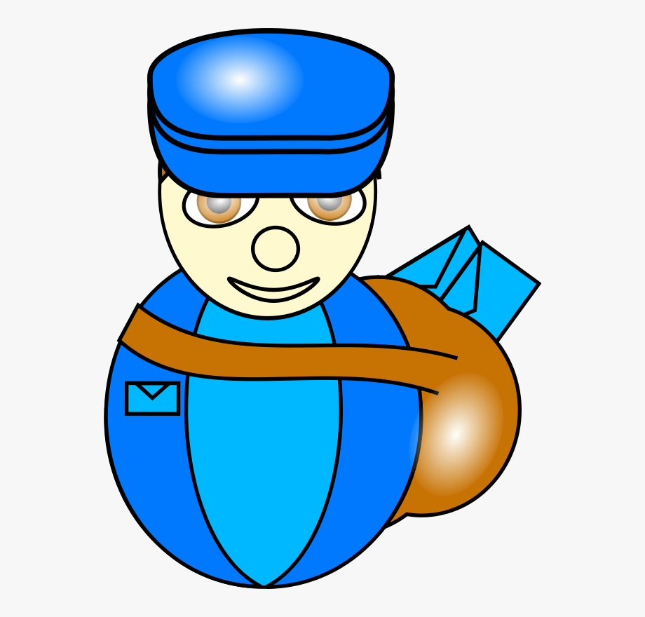 clip art royalty free download Mailman clipart transparent. Mail man background cliparts.