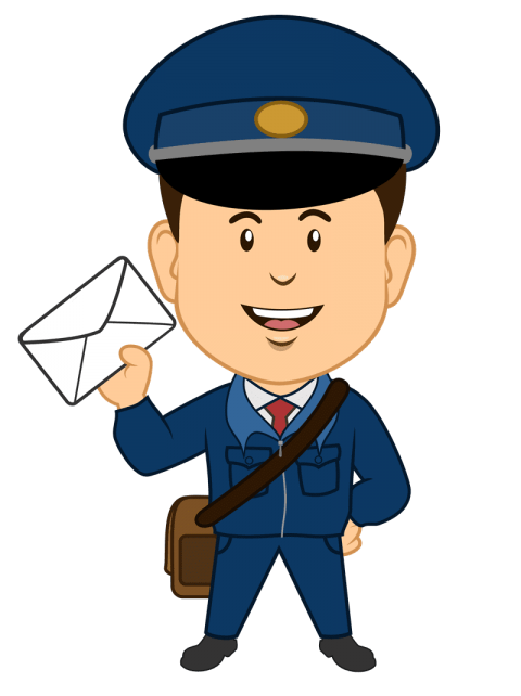 clipart freeuse library postman png
