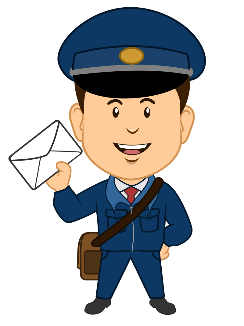 banner stock Free cliparts download clip. Mailman clipart.