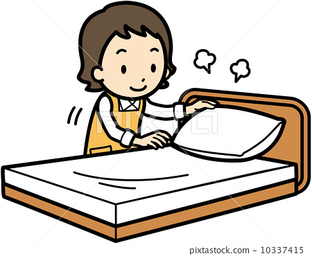 clipart stock Bed free download best. Make clipart.