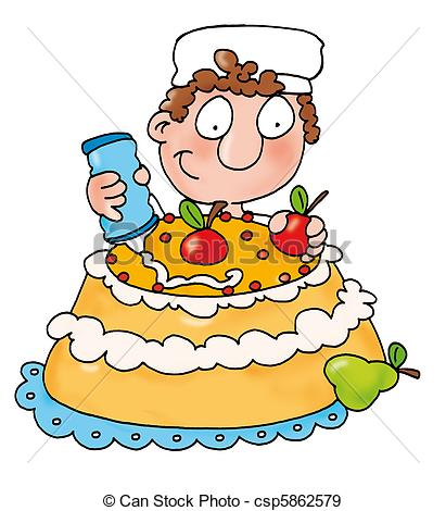 clipart royalty free Make clipart cake. A portal .