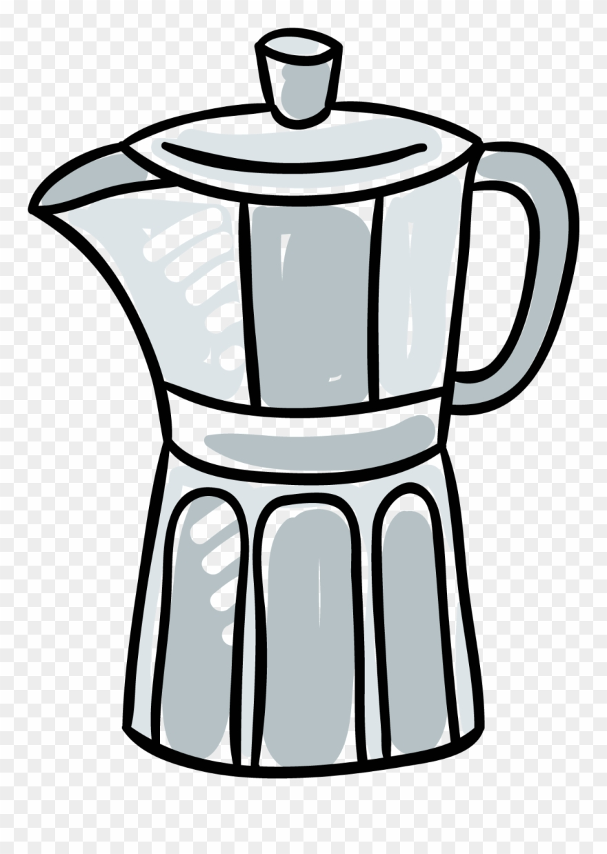 png freeuse stock How to stovetop percolator. Make clipart coffee.