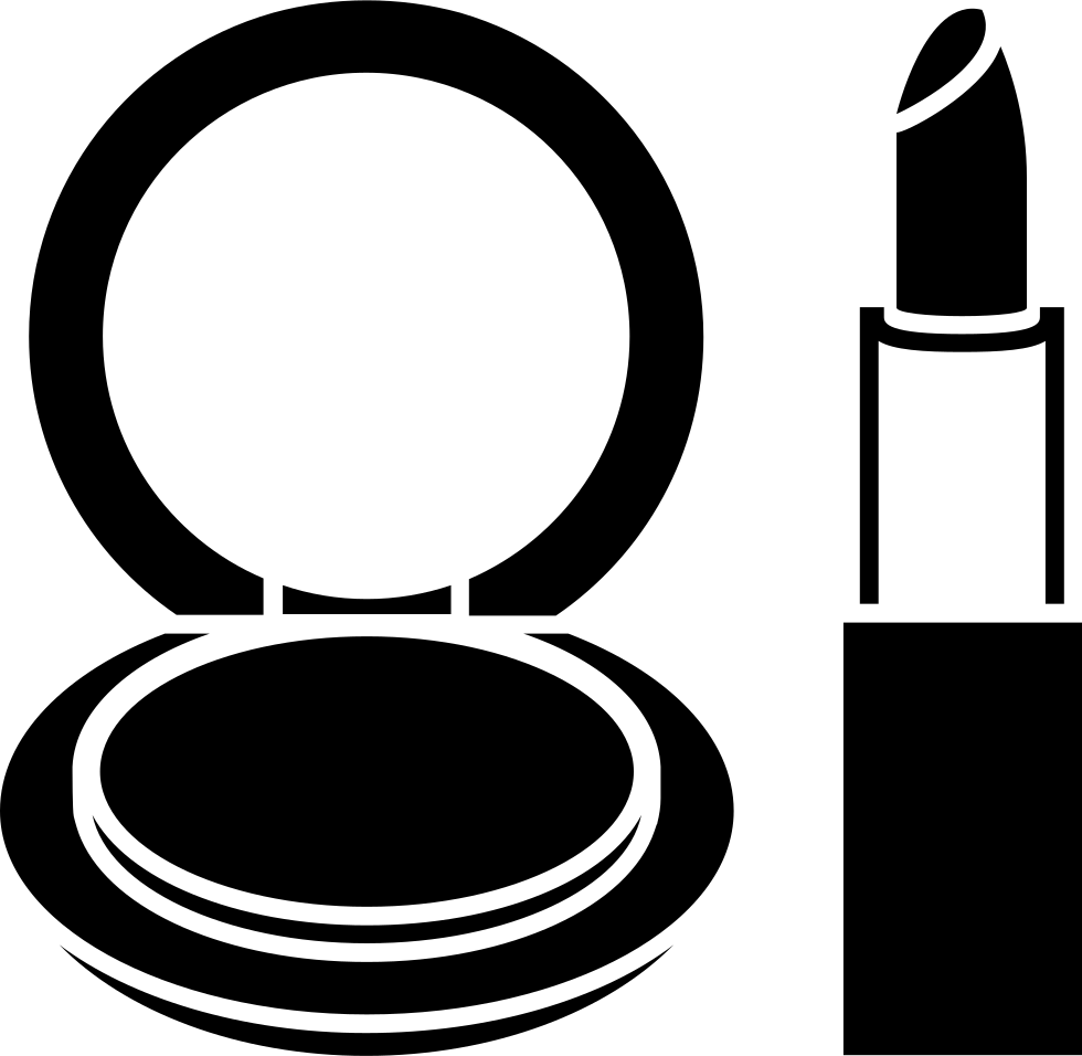 clipart library Image result for makeup vector black and white