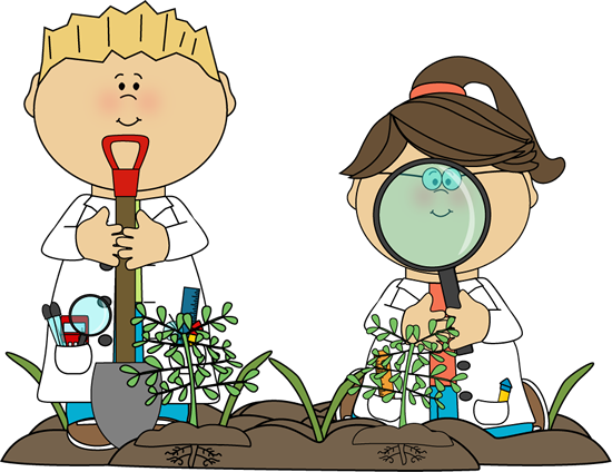 banner download Clip art images examining. Kids science clipart