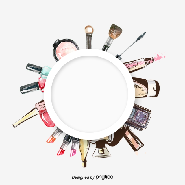 clipart library library Beauty vector makeup item. Png psd and clipart